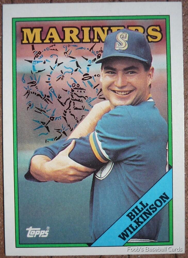 103 - Bill Wilkinson by Foob's Baseball Cards