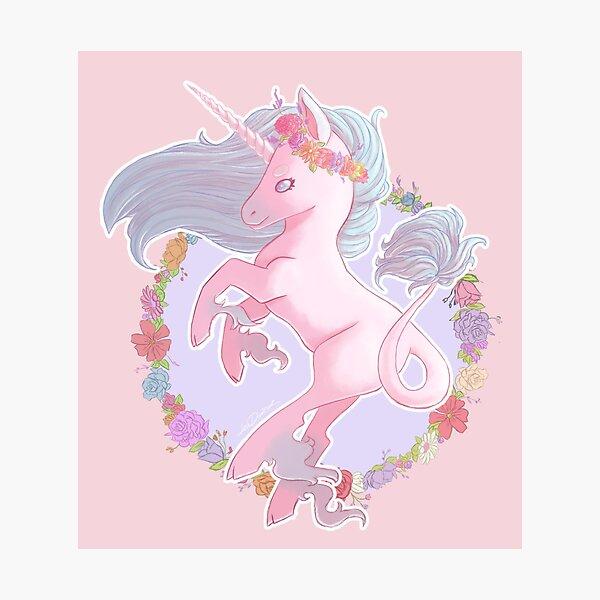 Cute Unicorn Print Photographic Print
