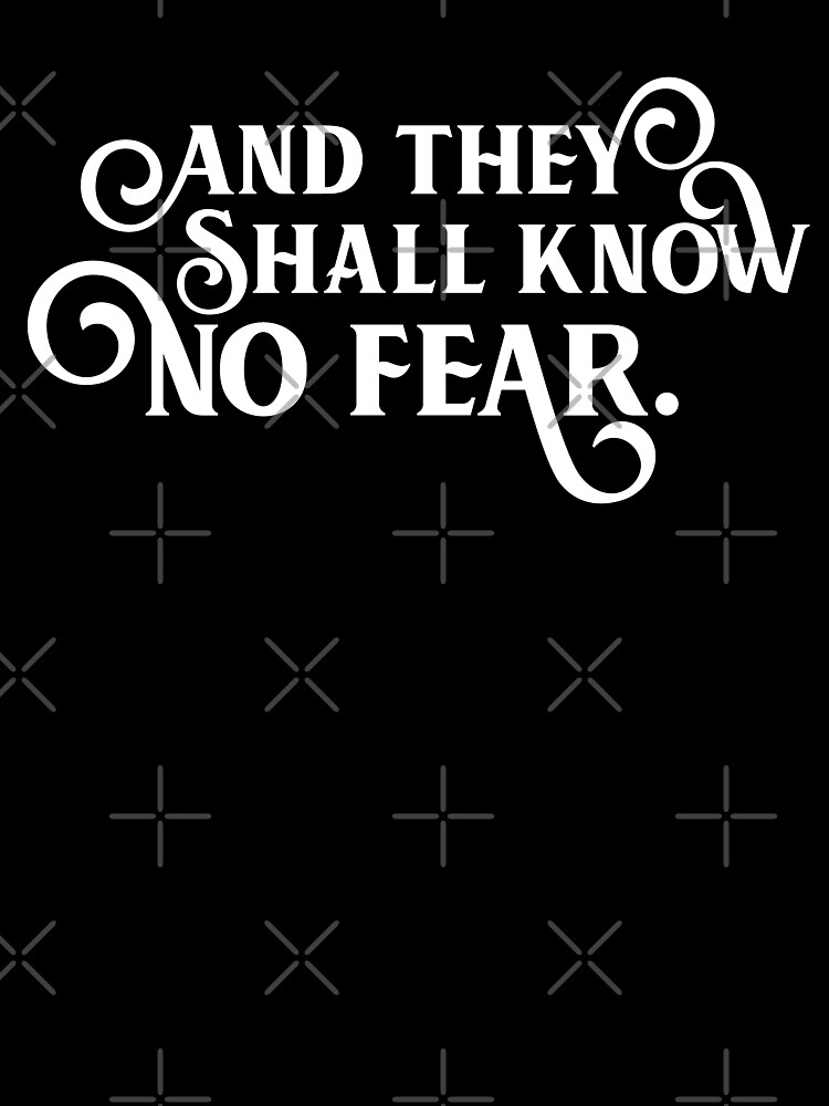 And They Shall Know No Fear Wargaming Quotes Kids T Shirt By Pixeptional Redbubble