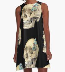 Skull & Dragonfly  A-Line Dress
