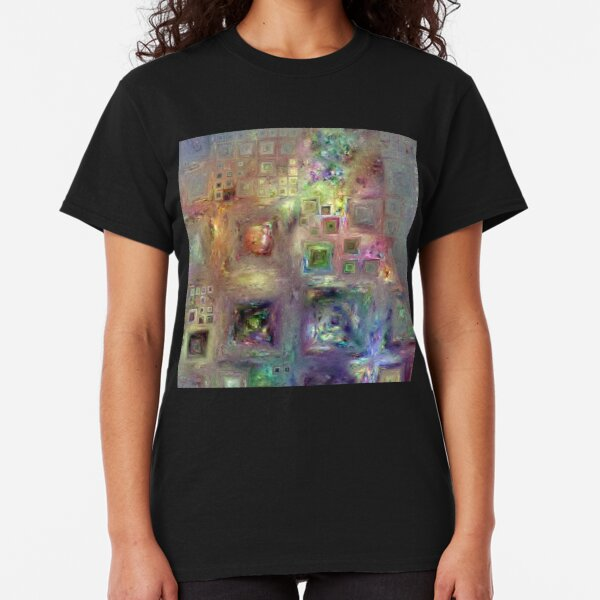 Crystalline Squares 8 Classic T-Shirt