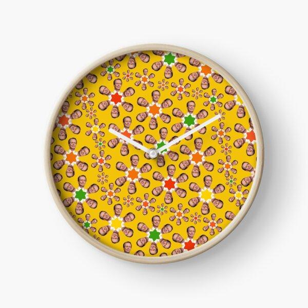 Steve Buscemi Flower Power Clock