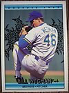 110 - Bill Wegman by Foob's Baseball Cards