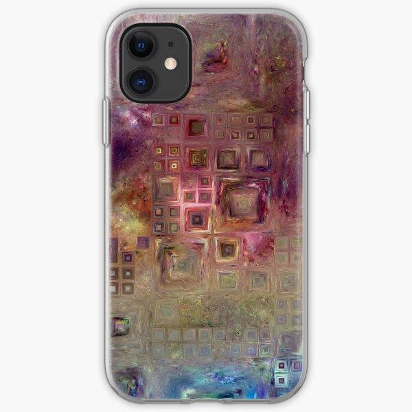 Crystalline Squares 6 iPhone Soft Case