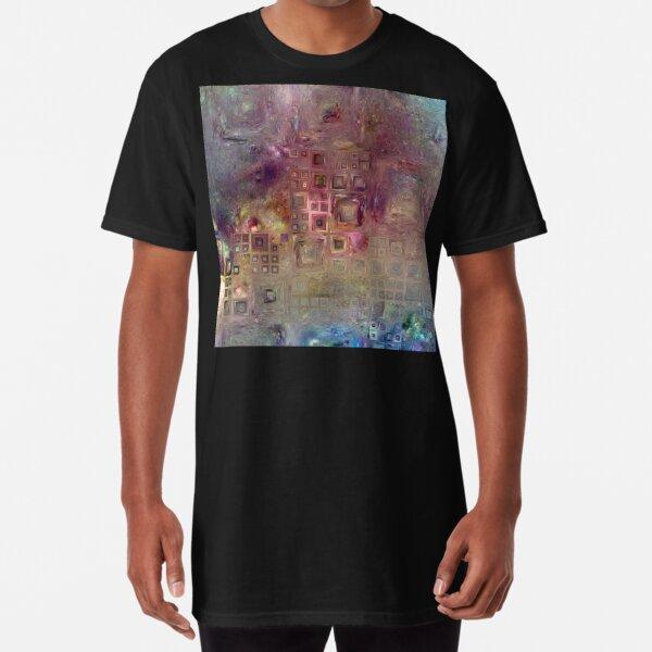 Crystalline Squares 6 Long T-Shirt