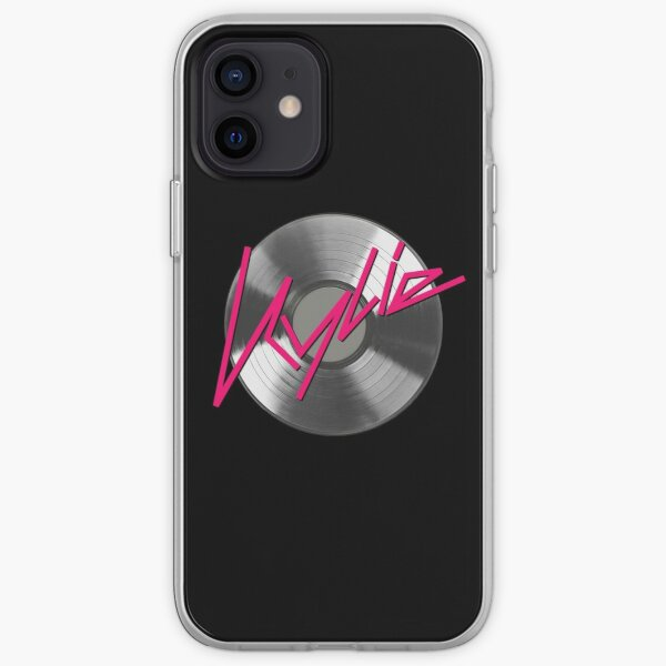 Kylie Minogue - record (silver) iPhone Soft Case