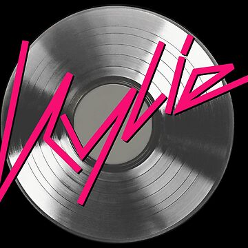 Kylie Minogue - record (silver) by shadoboxer