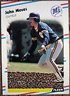 118 - John Moses by Foob's Baseball Cards