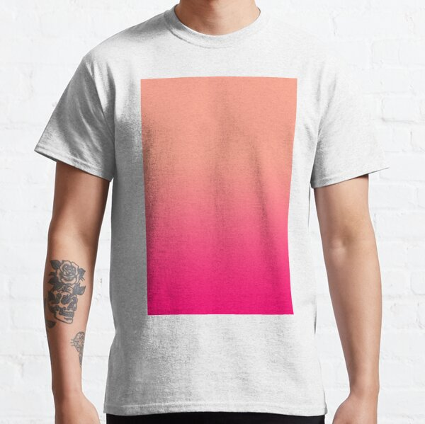 VERY VIVID AFTERNOON COCTAIL | VIVID TANGERINE AND VIVID RASBERRY |OMBRE BY OZCUSHIONS Classic T-Shirt