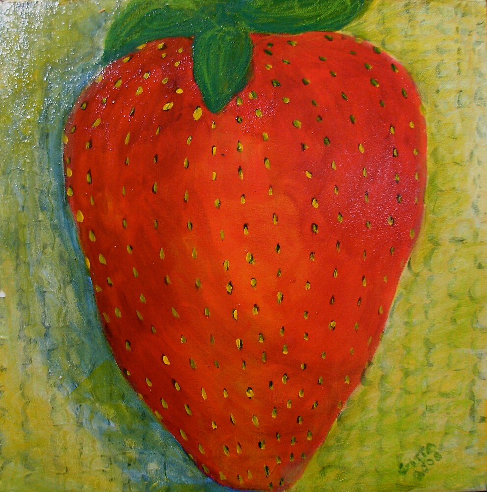 Strawberry, No Cream by Gitta Brewster