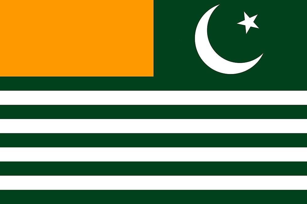 Azad jammu and Kashmir  ( AJK) Flag  by dadyal