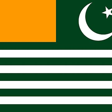 Azad jammu and Kashmir  ( AJK) Flag  by dadyal