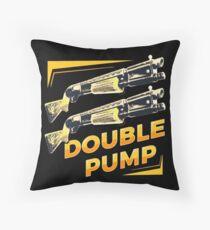 Double Pump Throw Pillow