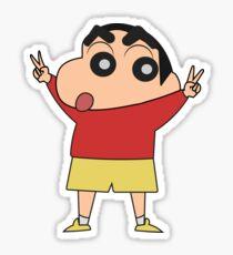 Shin chan for President Sticker