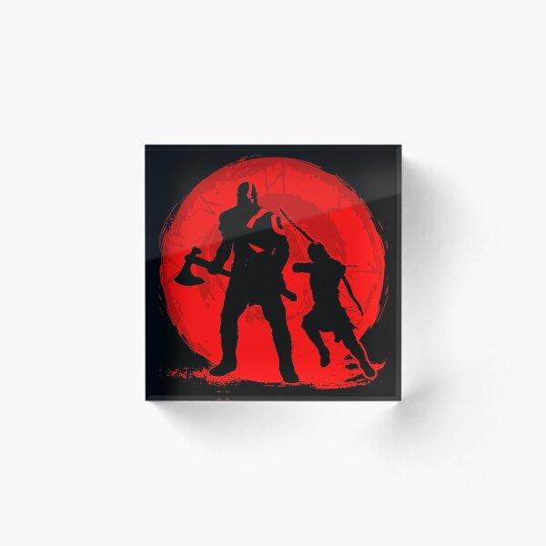 God of War 4 Acrylic Block