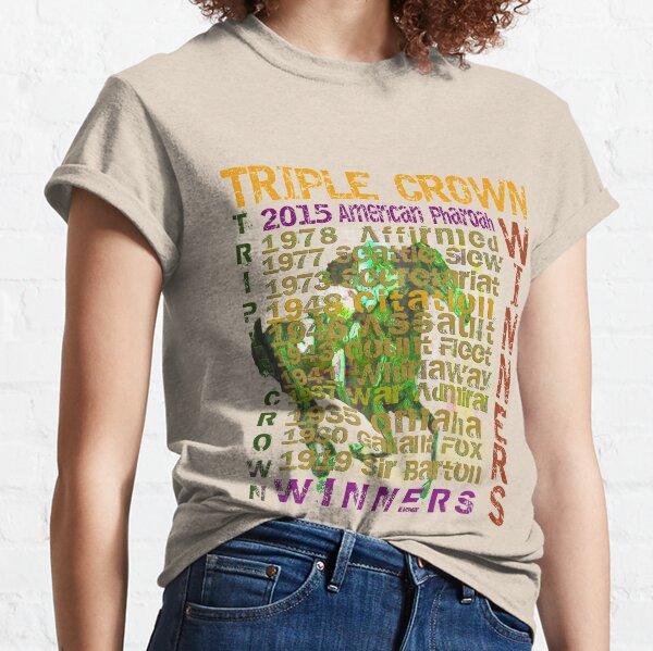 Colorful Triple Crown Winners 2015  Classic T-Shirt
