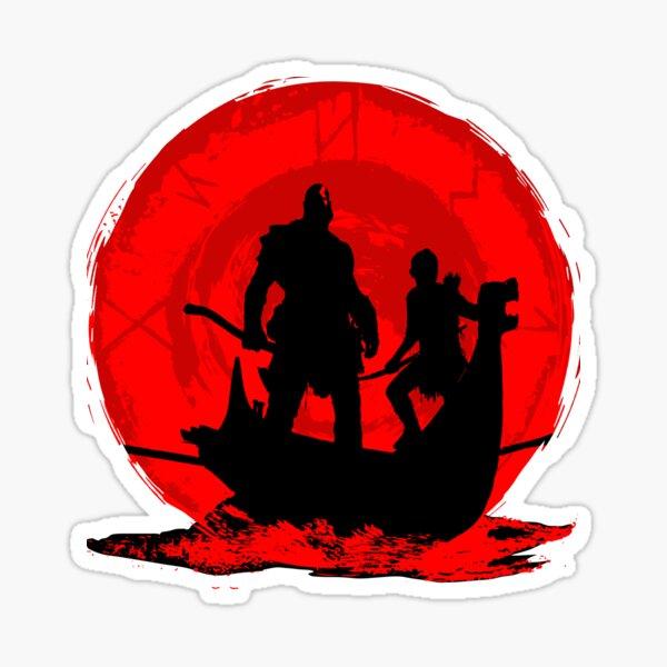 God of War 4 Sticker