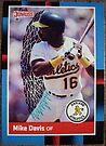 126 - Mike Davis by Foob's Baseball Cards