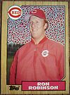 127 - Ron Robinson by Foob's Baseball Cards
