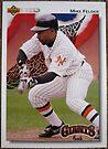 132 - Mike Felder by Foob's Baseball Cards