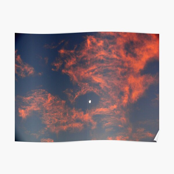 Sunset Moon 2 Poster