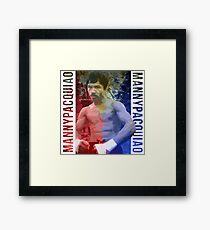 "Manny Pacquiao ""Pac-Man"" Framed Print"