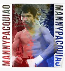 """Manny Pacquiao """"Pac-Man"""" Poster"""