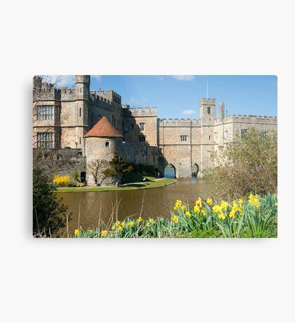 Leeds Castle Kent UK: Springtime Easter Metal Print