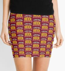 I Find Your Lack of Beer Disturbing Mini Skirt