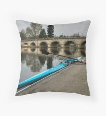 Your Boat Awaits Throw Pillow