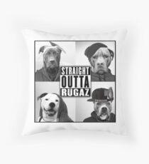 "Rugaz Rescue, Inc. | ""Straight Outta Rugaz"" Floor Pillow"