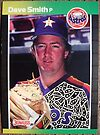 140 - Dave Smith by Foob's Baseball Cards