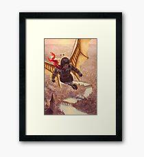 The Aviatrix Framed Print