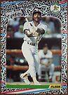 137 - Tony Bernazard by Foob's Baseball Cards