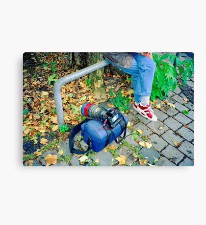 On Assignment - Equipment Canvas Print