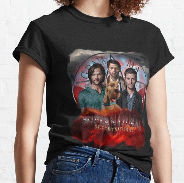 custom t-shirt tee Scoobynatural Scooby Doo Dog Gang Sam Dean Castiel