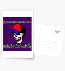 TRENDING T-SHIRTS FOR EVERYONE! UNREADY PLAYER ONE GAME ON! T-SHIRT Postcards