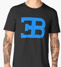 Bugatti light blue logo Men's Premium T-Shirt