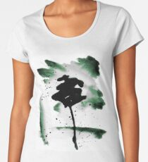 Green Ink Wash I Women's Premium T-Shirt