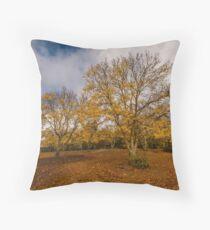 Autumnal Ash Throw Pillow