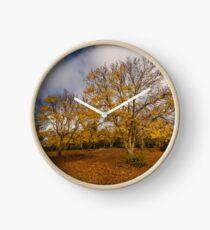 Autumnal Ash Clock