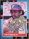165 - Ivan Calderon by Foob's Baseball Cards
