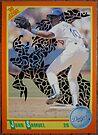 167 - Juan Samuel by Foob's Baseball Cards