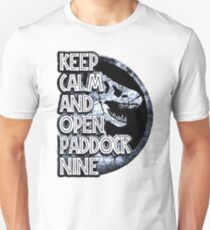 Keep calm and open paddock nine Unisex T-Shirt