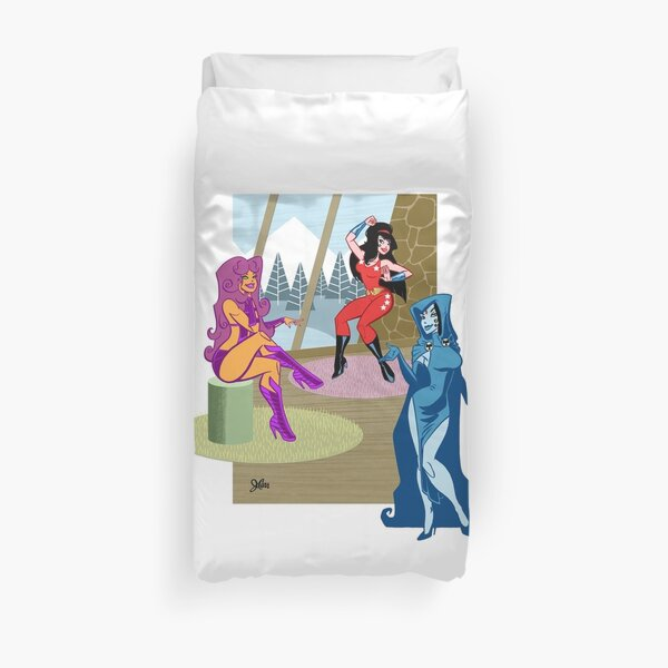 The Titans of the 80s! Duvet Cover