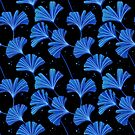 Gingko Leaves Pattern by freeminds