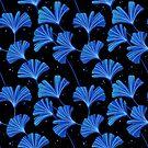Gingko Blätter Muster von freeminds