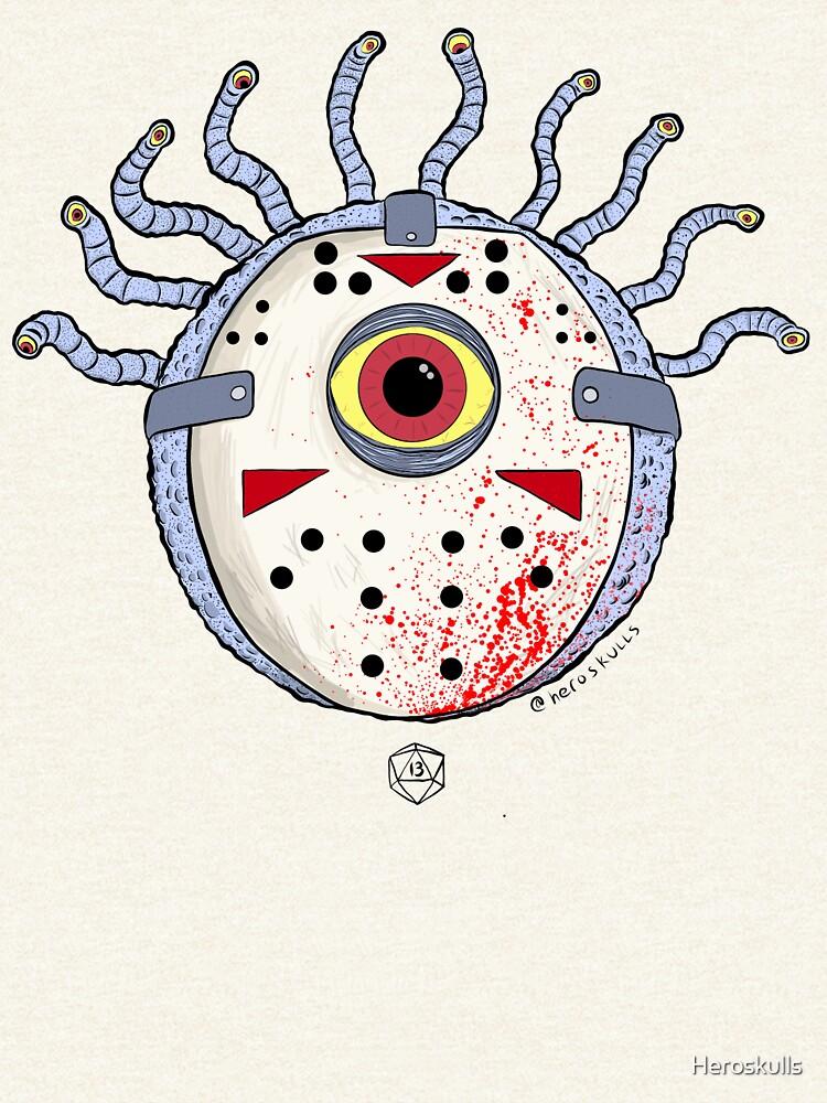 Friday the 13th Beholder by Heroskulls