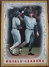 179 - Royals Leaders by Foob's Baseball Cards