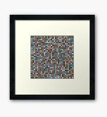 Playful Dots 1 Framed Print